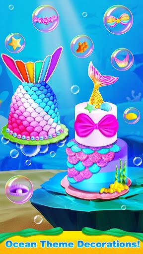 Mermaid Cake Decorating u2013 Girl Games for Free 1.3 screenshots 4