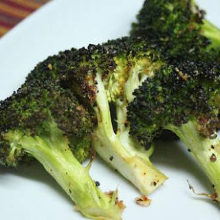 Chili-Garlic Roasted Broccoli.
