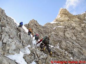 Photo: IMG_8909 scesi e risaliti piu a destra, ora si va sulla cresta
