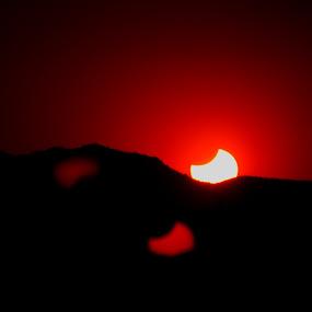 Red Sunset by Amory Godwin Grijaldo - Landscapes Mountains & Hills ( pwcredscape, pwcredscapes )
