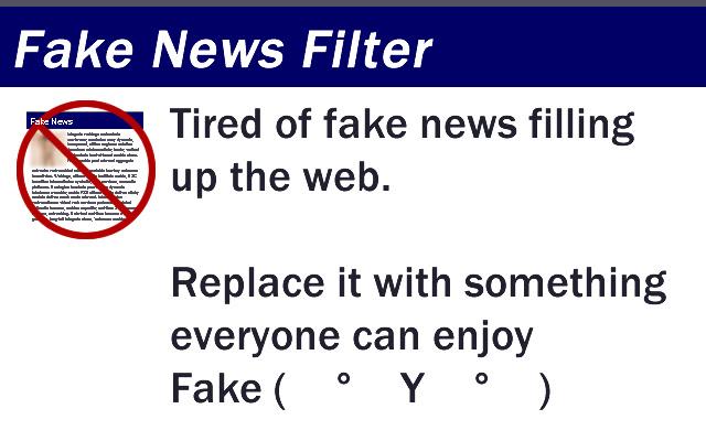 Fake News Filter