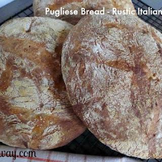 Pugliese Bread - An Italian Rustic Loaf