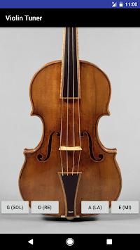 Best Simple Violin Tuner(No Ads!) APK screenshot thumbnail 1