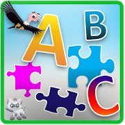 ABC Jigsaw Puzzle Game for Kids && Toddlers!