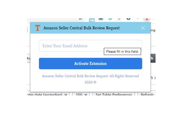 Amazon Seller Central Reviews Bulk Request