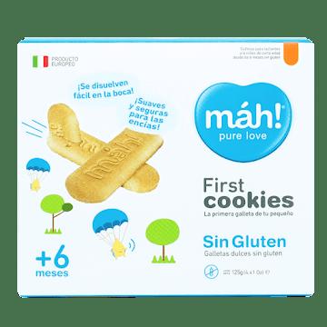 Galletas Mah Firts Cookies Sin Gluten +6 Meses X125g