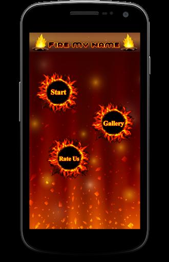 Name Text Fire 1.0.2 screenshots 1