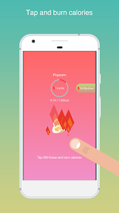 Tap Fit - Tap & burn calories- screenshot thumbnail