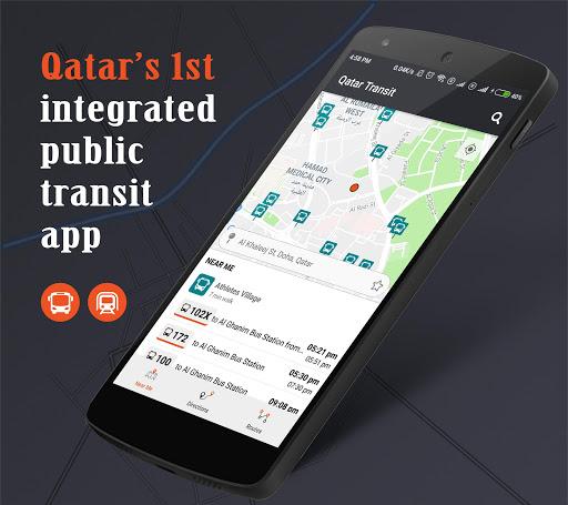 Qatar Transit - Bus, Metro, Times, Maps, Planner 4.7 screenshots 1