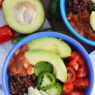 Beef and Quinoa Taco Bowls