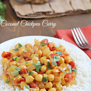 Coconut Chickpea Curry.
