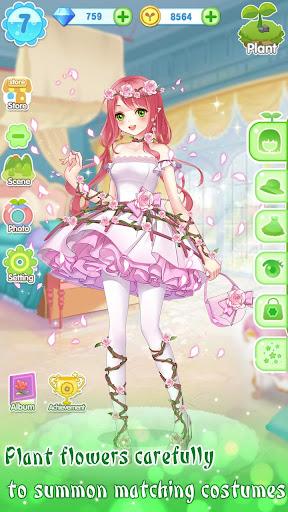 ud83dudc57ud83dudc52Garden & Dressup - Flower Princess Fairytale screenshots 19