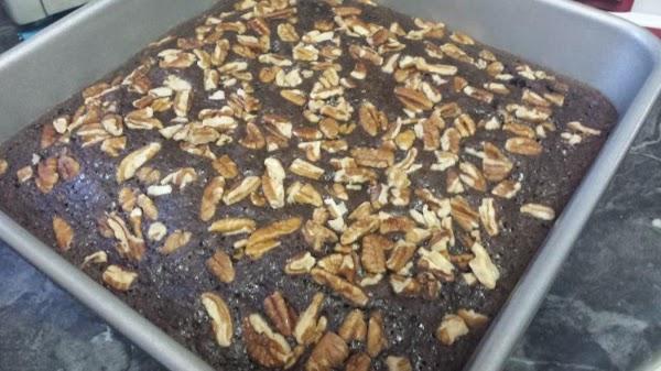 Mash bananas; stir in eggs, oil, and water until well blended. Stir in brownie...