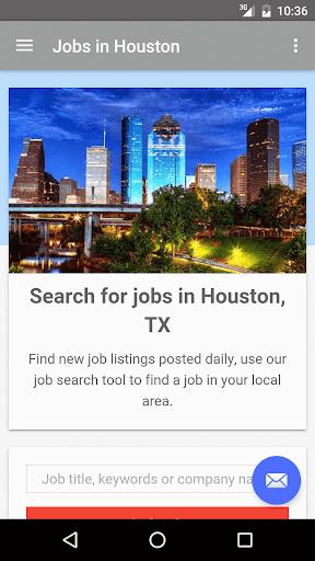 Jobs in Houston, Texas, USA  screenshots 1