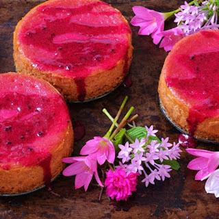 Dragon Fruit Cheesecake With Coconut Oat Crust [Vegan].