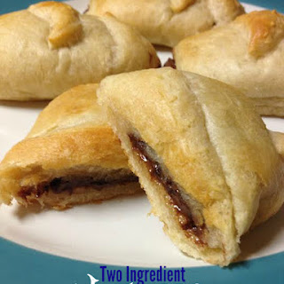 Two Ingredient Nutella Crescents Recipe