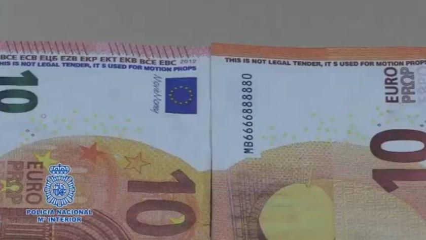 La Policía da consejos para detectar los billetes falsos. / Policía Nacional