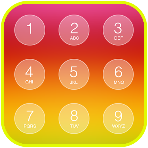 Folding Keypad Lock Screen