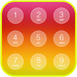 Folding Keypad Lock Screen
