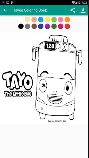 Tayo Coloring Book Free 1.2 screenshots 3