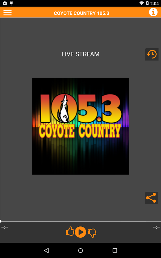 Coyote Country 105.3- screenshot