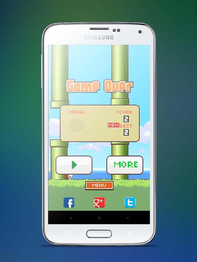 Floppy Bird - screenshot