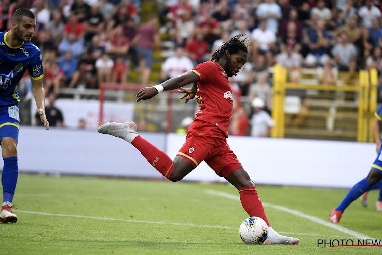 """Dieumerci Mbokani a évoqué l'intérêt d'Anderlecht : """"Il a fallu que j'y réfléchisse un moment"""""""