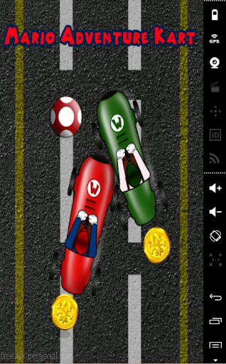 Mario Adventure kart