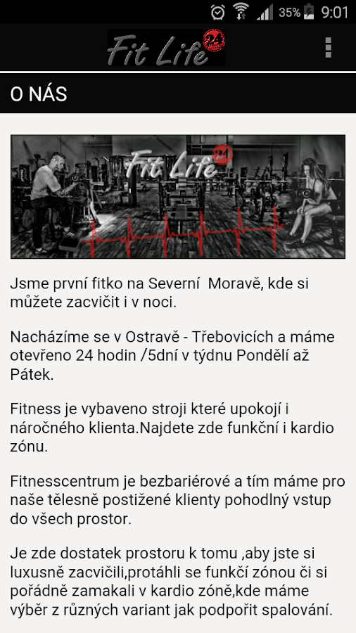 Fit Life 24 Hours Ostrava- screenshot