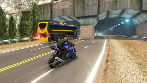 Bike VS Bus Free Racing Games – New Bike Race Game apktreat screenshots 1