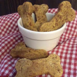 Homemade Carrot Dog Treats with Gluten Free Flour.