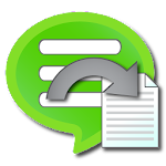 Backup Text for LINE Icon