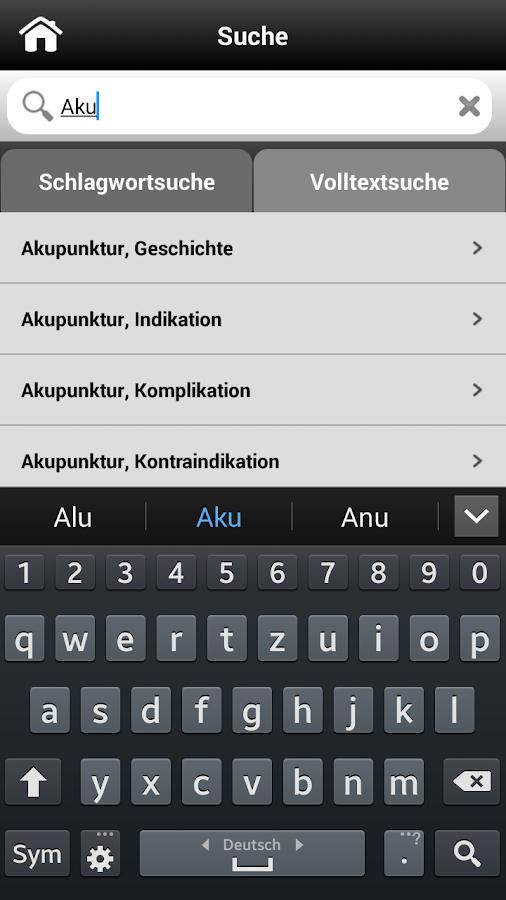 Akupunktur pocket- screenshot
