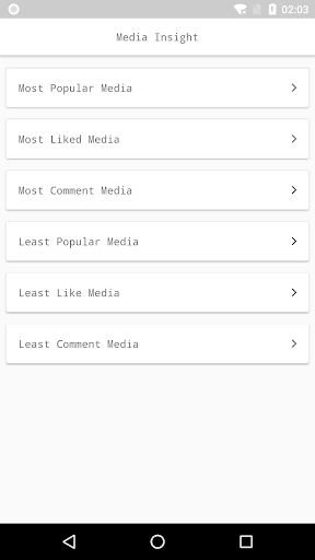 Followers Insight for Instagram, tracker, analyzer 1.4 screenshots 2