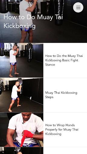 Muay Thai Video Lessons Pro