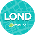 London Travel Guide in English with map icon