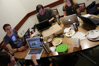 Photo: Seriously, these folks have some hacking stamina!