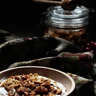Rosemary, Honey, Walnut, and Dried Fig Granola