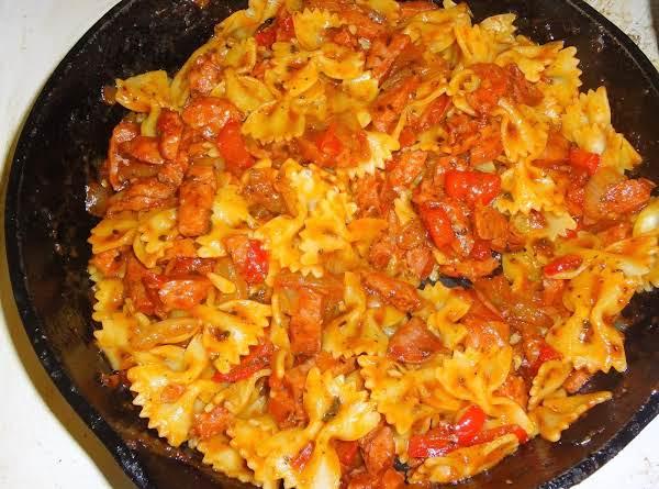 Everything but the kitchen sink pasta recipe just a pinch recipes everything but the kitchen sink pasta recipe workwithnaturefo