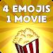 4 Emojis 1 Movie - Guess Film icon