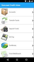 Screenshot of Suncoast SunMobile
