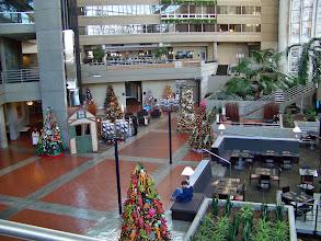 Photo: The Hyatt Regency Lobby Was Beautiful