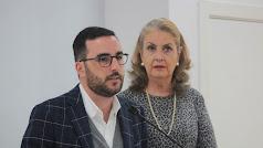 El concejal Carlos Sánchez y la chef Francisca Pérez.
