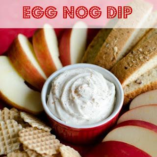 Egg Nog Dip