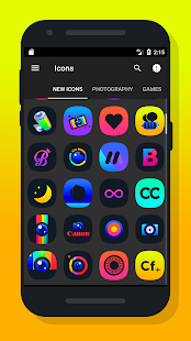 Light X - Icon Pack Screenshot