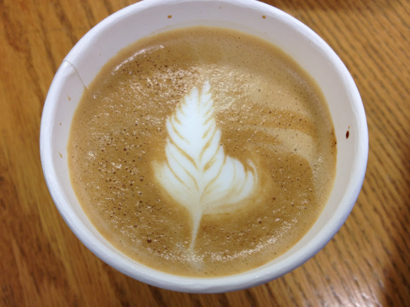 Photo: Vincent Mo's pretty lattes