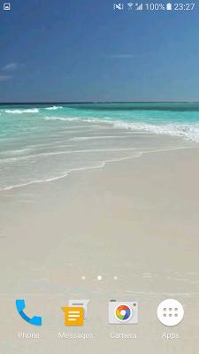Beach Video Live Wallpaper Pro - screenshot
