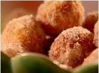 Golden Puff Fried Doughnuts