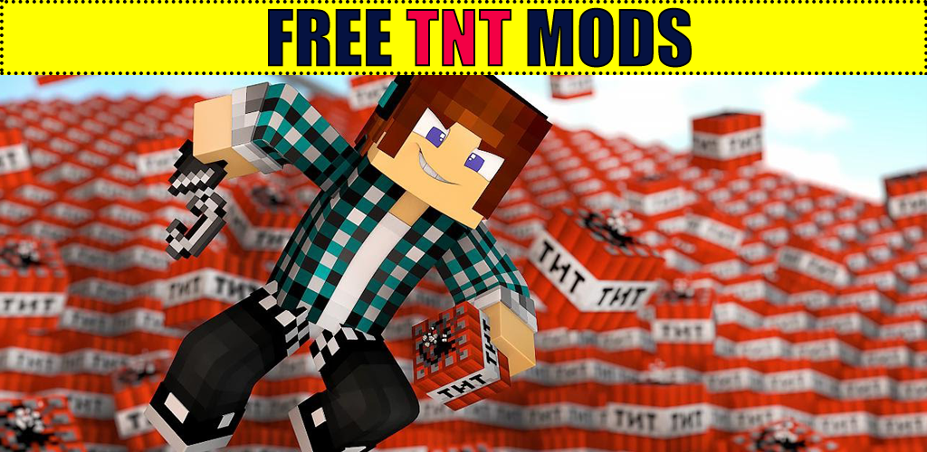 Too much TNT mod for MCPE