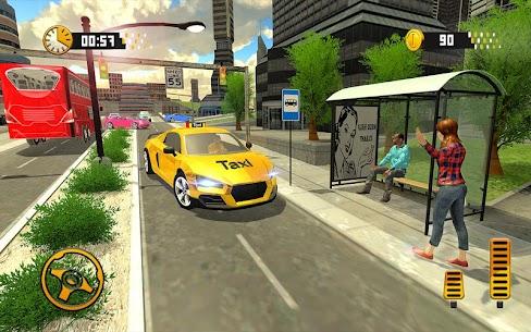 Taxi Driving Simulator Real Taxi Driver 2.1 Mod APK Download 3